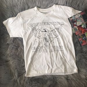 "Tops - ""Rock Festival East to West Tour 1977"" Shirt"
